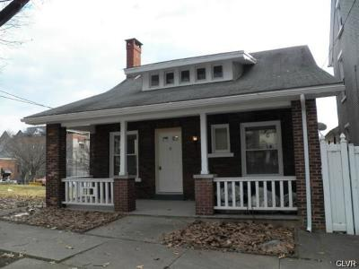 Single Family Home Available: 211 West Goepp Street