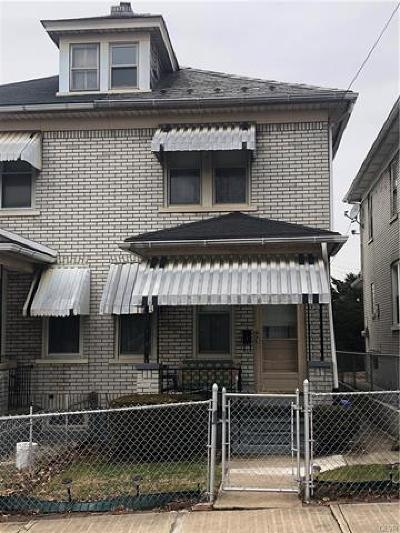 Bethlehem City Single Family Home Available: 303 8th Avenue