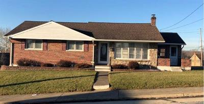 Northampton Borough Single Family Home Available: 217 East 10th Street