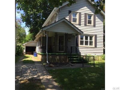 Bethlehem City Single Family Home Available: 1629 Cloverleaf Street