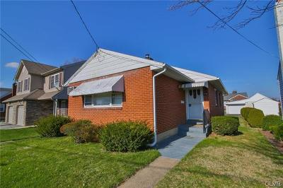 Bethlehem City Single Family Home Available: 2128 Lexington Avenue