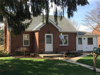 Macungie Borough Single Family Home Available: 70 South Buttonwood Street