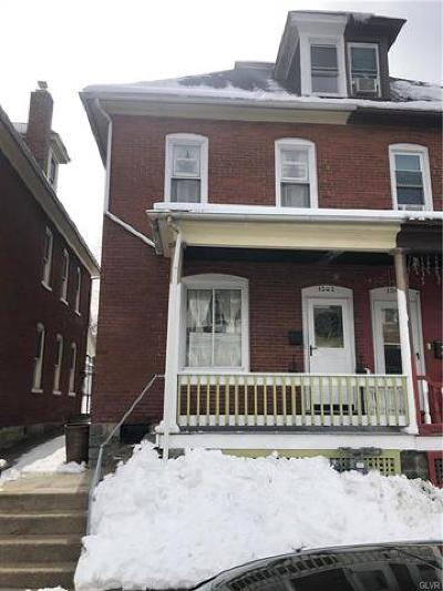 Multi Family Home Available: 1342 Lehigh Street