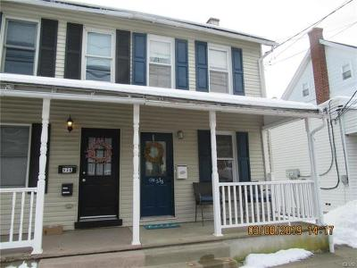 Emmaus Borough Single Family Home Available: 538 Minor Street