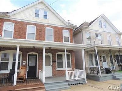 Single Family Home Available: 146 South 14th Street