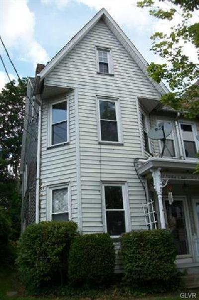 Single Family Home Available: 911 Bushkill Street