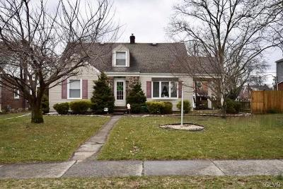 Allentown City Single Family Home Available: 1120 North Wahneta Street