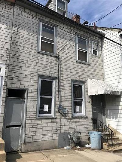 Single Family Home Available: 320 North Lumber Street