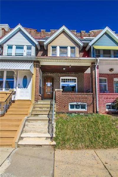Allentown City Single Family Home Available: 1017 West Tilghman Street