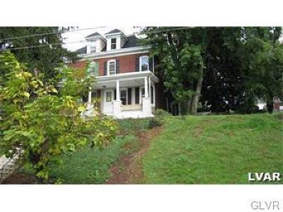 Easton Single Family Home Available: 1011 Bushkill Street