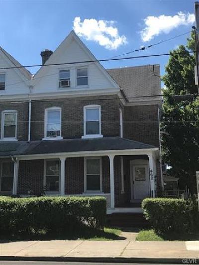 Single Family Home Available: 462 West Tilghman Street