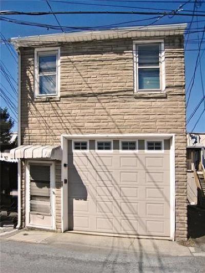 Allentown City Single Family Home Available: 1341 Emmett Street
