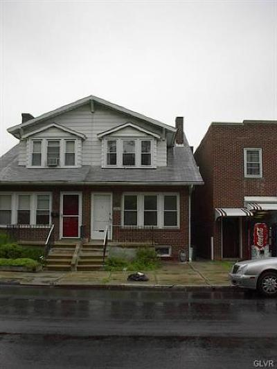 Allentown City Single Family Home Available: 2305 Liberty Street