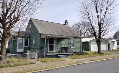 Allentown City Single Family Home Available: 560 Mohawk Street