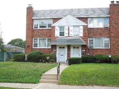 Allentown City Single Family Home Available: 2112 South Lumber Street #1