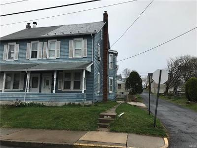Northampton Borough Single Family Home Available: 803 Washington Avenue