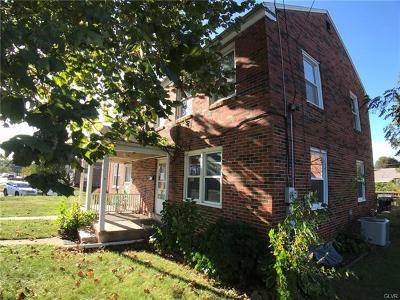 Allentown City Single Family Home Available: 319 West Brookdale Street