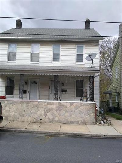Northampton Borough Single Family Home Available: 651 20th Street