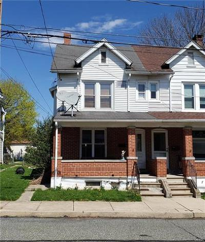 Emmaus Borough Single Family Home Available: 217 North 7th Street