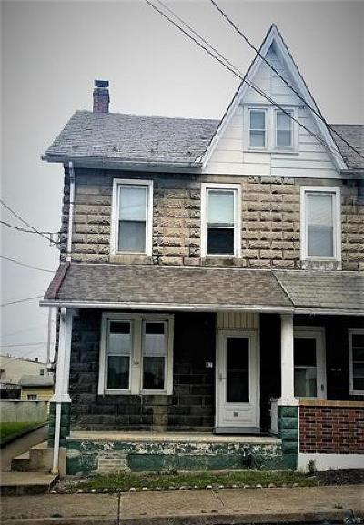 Northampton Borough Single Family Home Available: 47 West 17th Street