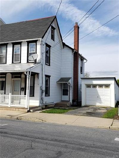 Emmaus Borough Single Family Home Available: 19 North 3rd Street