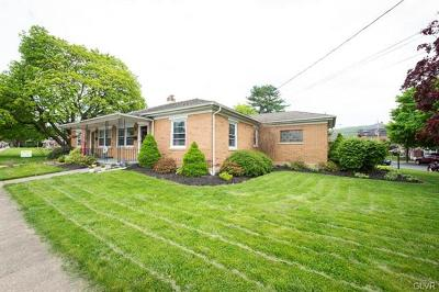 Emmaus Borough Single Family Home Available: 686 Walnut Street