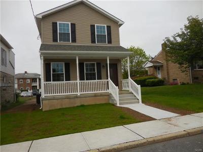 Northampton Borough Single Family Home Available: 1542 Lincoln Avenue