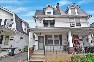 Bethlehem City Single Family Home Available: 824 Fernwood Street