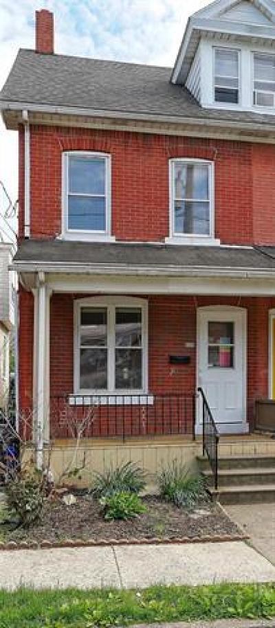 Bethlehem City Single Family Home Available: 526 East Laurel Street