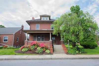 Emmaus Borough Single Family Home Available: 506 North 3rd Street