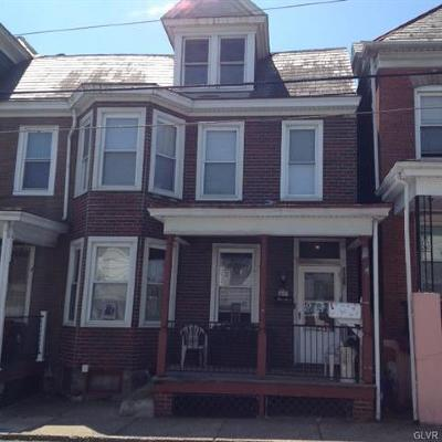 Single Family Home Available: 1542 Lehigh Street #2