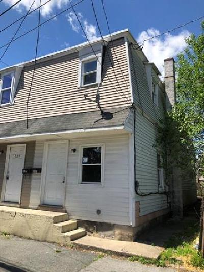 Allentown City Single Family Home Available: 537 Pratt Street