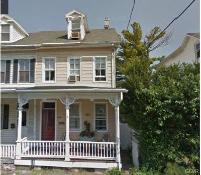 Multi Family Home Available: 829 Berwick Street