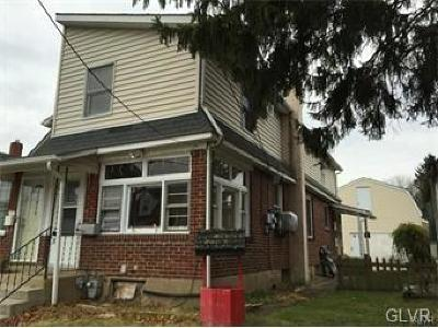 Hellertown Borough Single Family Home Available: 1058 Detweiler Avenue