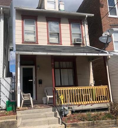Allentown City Single Family Home Available: 1311 West Liberty Street
