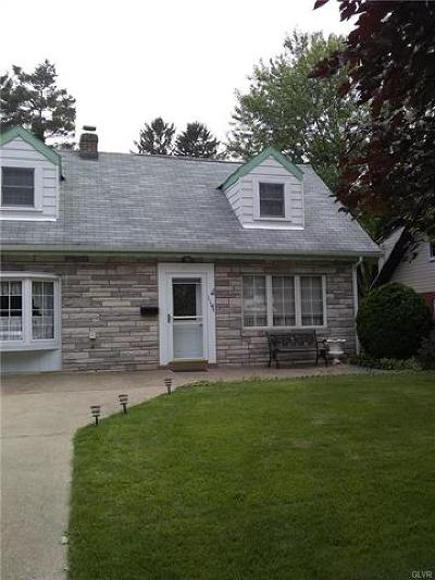 Emmaus Borough Single Family Home Available: 114 Fox Street