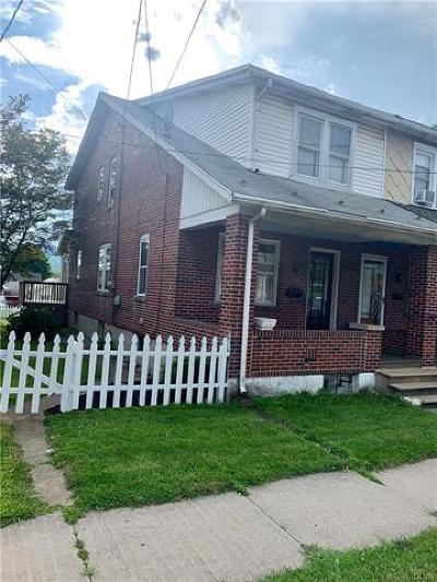 Hellertown Borough Single Family Home Available: 1618 Main Street