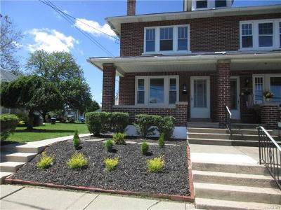 Emmaus Borough Single Family Home Available: 534 Liberty Street