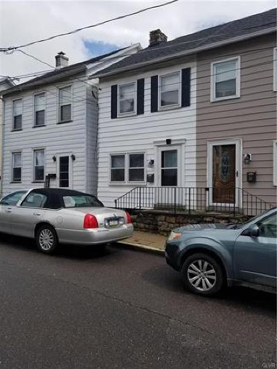 Hellertown Borough Single Family Home Available: 32 Depot Street