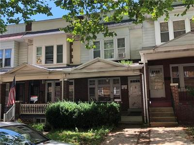Allentown City Single Family Home Available: 130 South Fulton Street