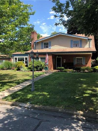 Emmaus Borough Single Family Home Available: 824 Fernwood Street
