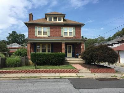 Single Family Home Available: 526 North Saint Lucas Street