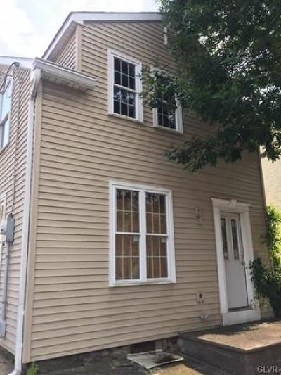 Bethlehem City Single Family Home Available: 56 East Union Boulevard