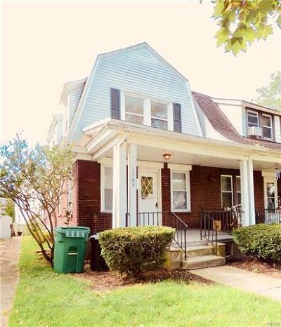 Bethlehem City Single Family Home Available: 1767 West Broad Street