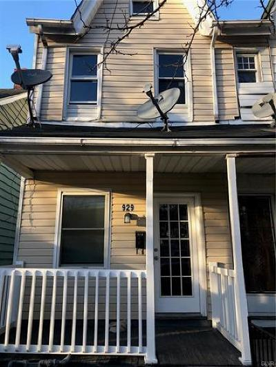 Single Family Home Available: 929 6th Street