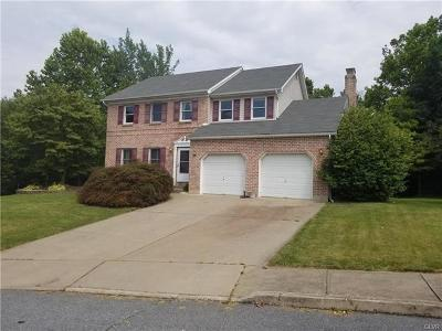 Northampton Borough Single Family Home Available: 1300 Barrington Drive