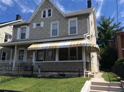 Northampton Borough Single Family Home Available: 1367 Newport Avenue