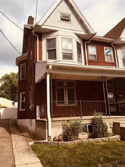 Emmaus Borough Single Family Home Available: 227 Ridge Street