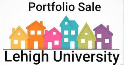 Multi Family Home Available: Lehigh Univ. Housing Portfolio