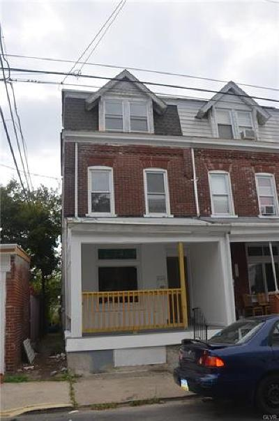 Allentown City Single Family Home Available: 912 West Green Street
